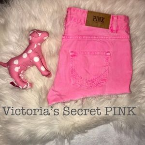 PINK Victoria's Secret Colored Denim Shorts